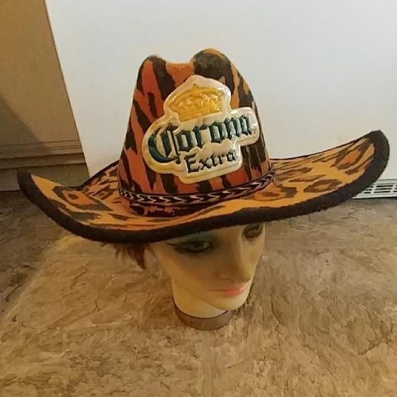 2967194269 ... cheetah cowgirl hat. M 5ae23be1077b97e46a8310ac